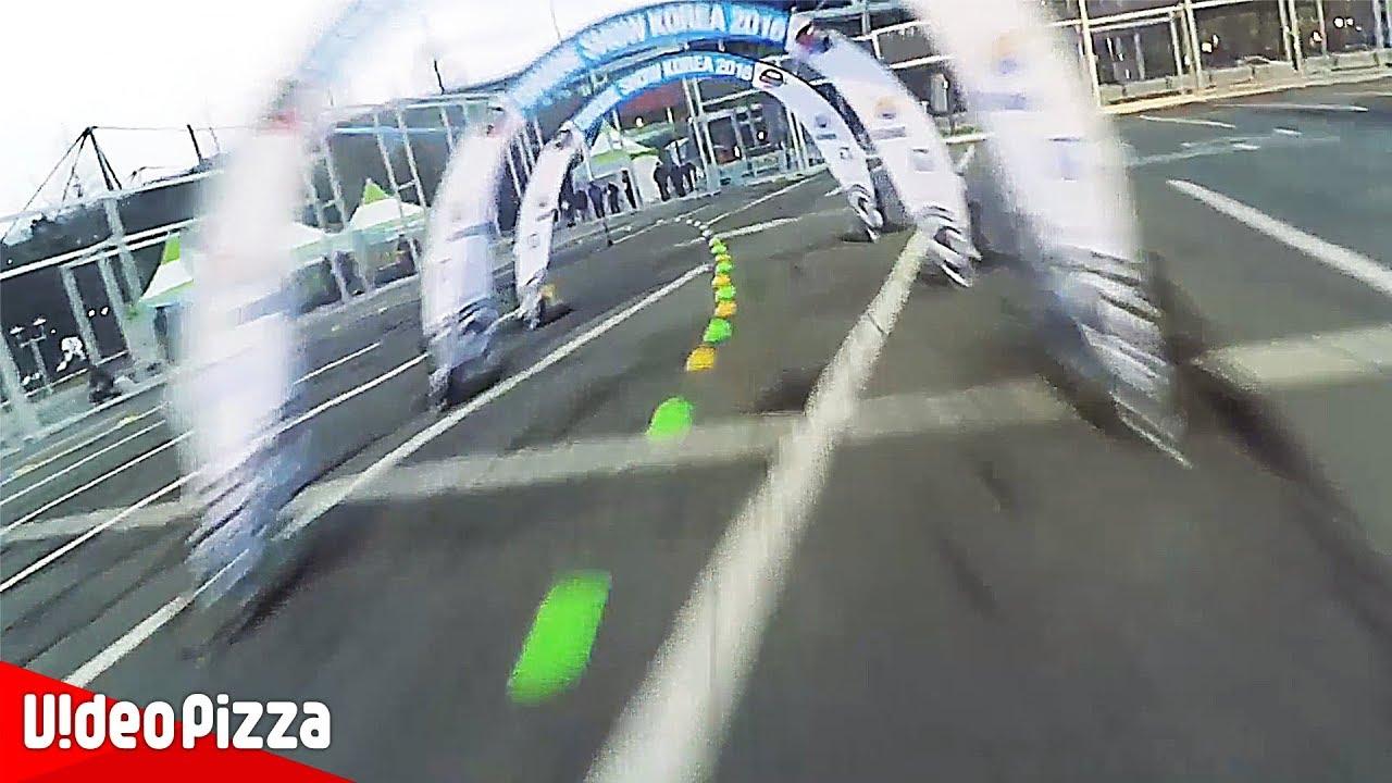 ドローンのレースが超スピードすぎるw【Video Pizza】